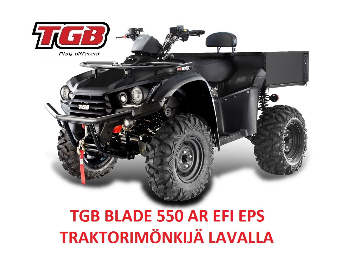 TGB BLADE 550 AR EFI EPS Traktorimönkijä Lavalla