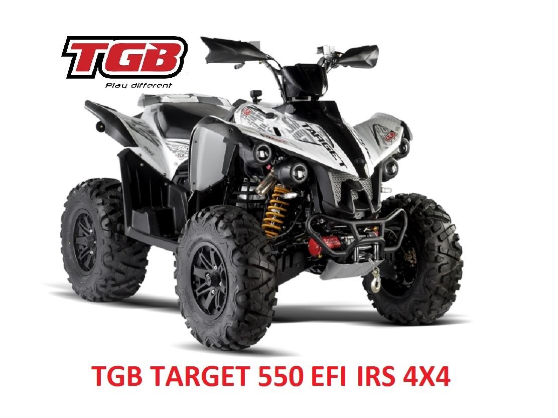 TGB TARGET 550 EFI IRS Maasto / Tieliikenne mönkijä
