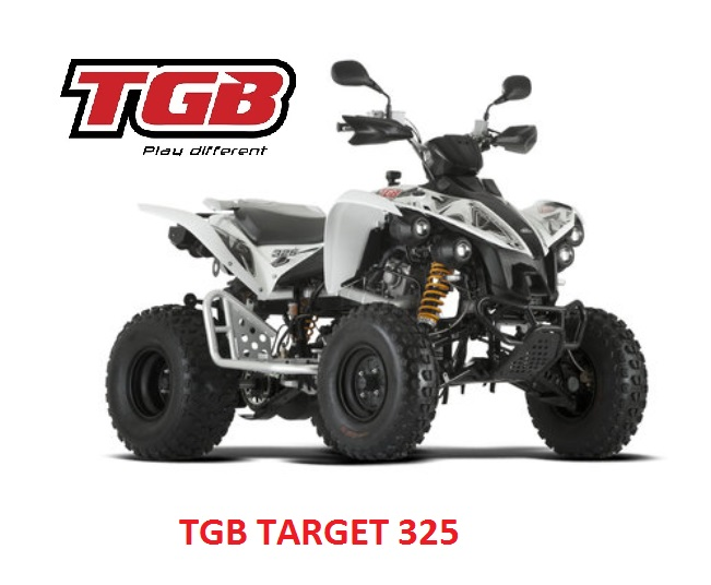 TGB TARGET 325 tieliikenne / maasto mönkijä