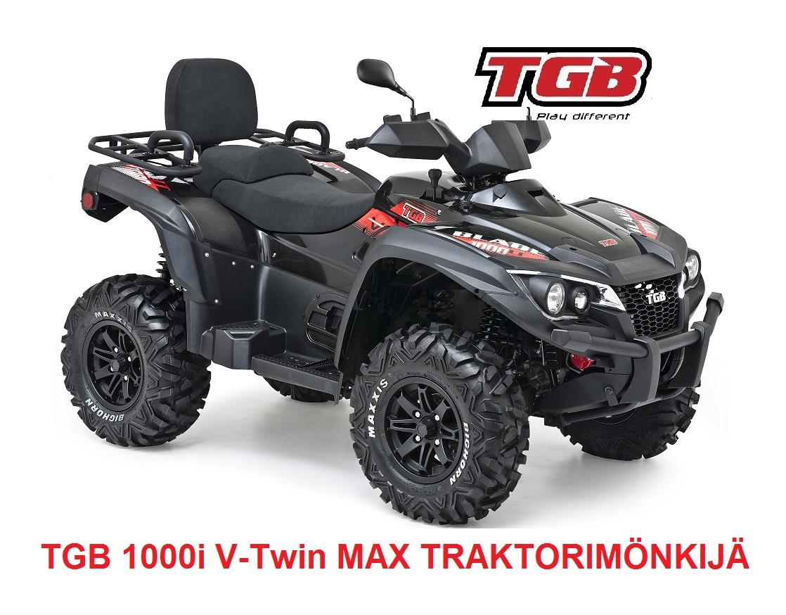 TGB 1000i V-Twin MAX Traktorimönkijä