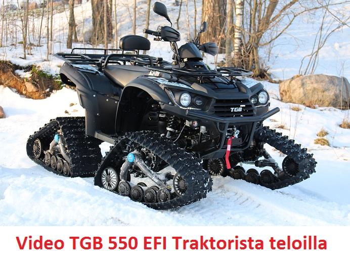 TGB 550 EFI + EPS Traktorimönkijä teloilla