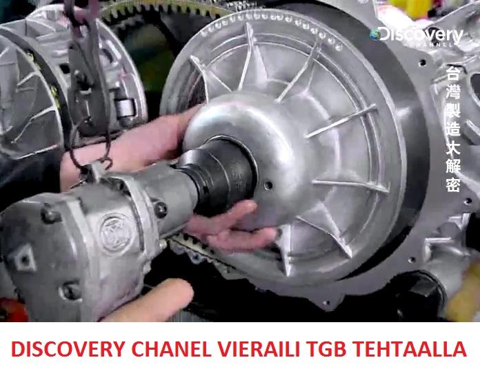 Discovery Chanel vieraili TGB:n tehtaalla Taiwanissa