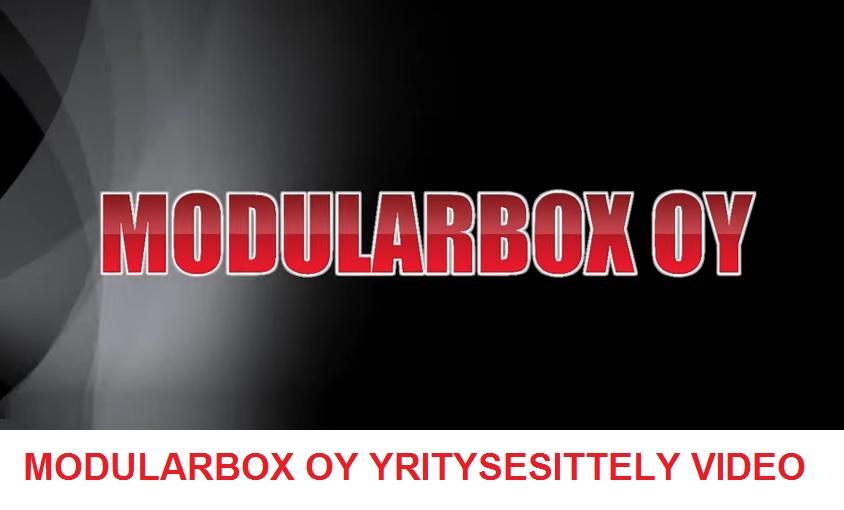 Modularbox Oy Yritysesittelyvideo