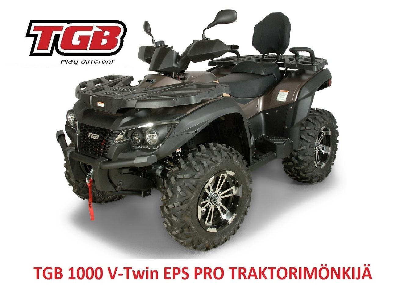 TGB 1000i V-Twin EPS PRO Traktorimönkijä