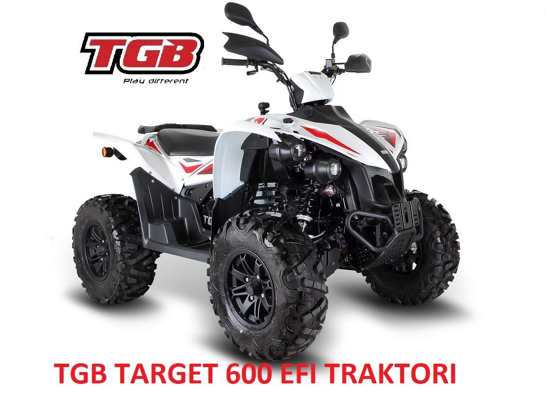 TGB Target 600 EFI Traktorimönkijä