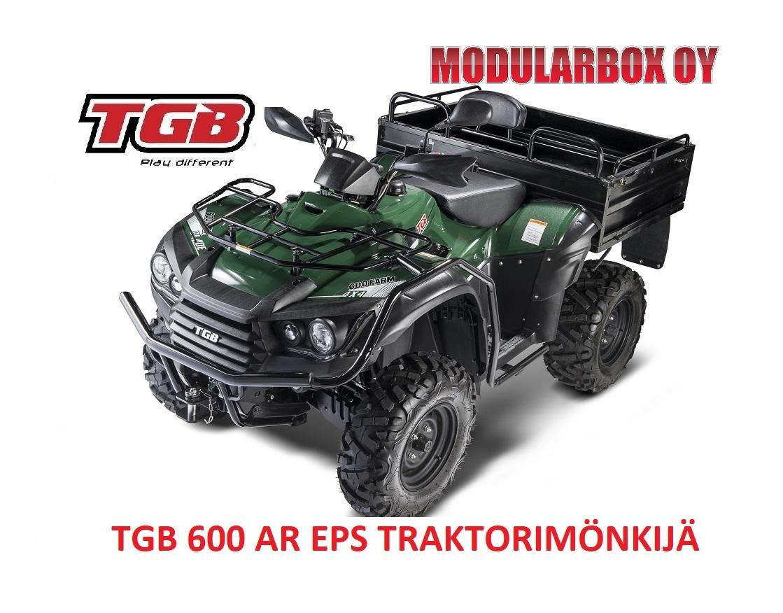 TGB BLADE 600 AR EFI EPS Traktorimönkijä Lavalla